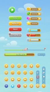 Link toMobile game ui source psd free