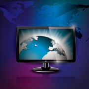 Link toModern monitor with technology vector 01 free