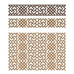 Link toMongolian style pattern vector