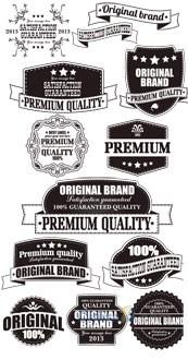 Link toMonochrome vector vintage label design