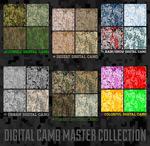 Link toMosaic camo background vector