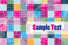 Link toMottled color block background vector