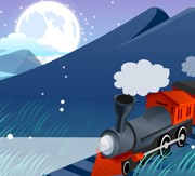 Link toMountains and train design vector free