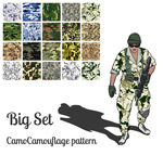 Link toMulticolor camouflage texture background vector