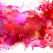 Link toMulticolor watercolor splash background illustration vector 05 free