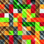 Link toMulticolored mosaics squares backgrounds 04 vector
