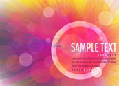 Link toMulticolour text background vector