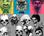 Link toMultiple current skull vector concepts