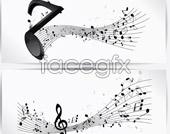 Link toMusic banner vector design