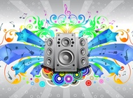 Link toMusic sound system vector free