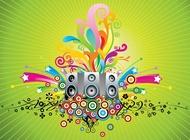 Link toMusic speakers vector free