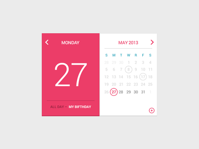 Link toMy birfday calendar psd