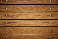 Link toNail the wood background vector