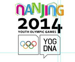 Link toNanjing youth olympic games vector