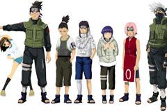 Link toNaruto anime characters vector