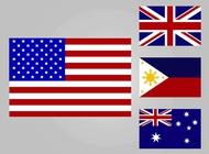 Link toNational flags vector free