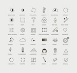 Network weather icons vector