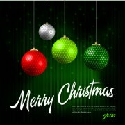 Link toNew year 2014 christmas background vector 02