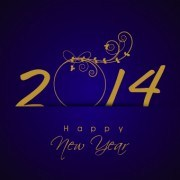 Link toNew year 2014 vector graphics 04