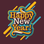 Link toNew year word art designs vector