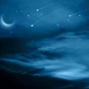 Link toNight sky with meteor vector background free