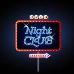 Link toNightclub neon signs vector