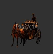 Link toNoble carriage and servants psd