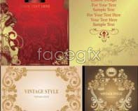 Link toNoble classical style decorative borders vector design