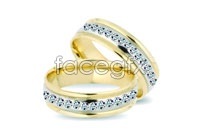 Link toNoble gorgeous diamond ring three vector