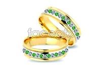 Link toNoble gorgeous diamond ring vector v