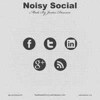Link toNoisy social media icons