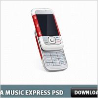 Link toNokia music express phone psd