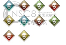 icon skull Non-mainstream