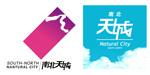 Link toNorth-south city logo vector