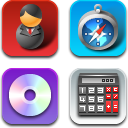 Link toObject icons for iphone