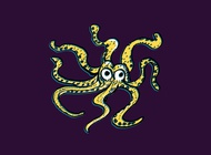 Link toOctopus doodle vector free