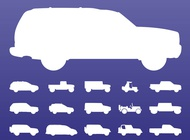 Link toOff-road cars set vector free