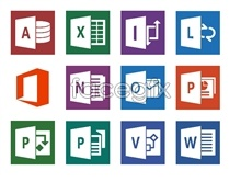 Link toOffice 2013 desktop icons