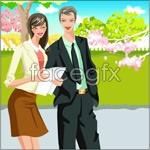 Link toOffice characters _24 vector