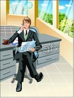 Link toOffice characters _26 vector
