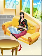 Link toOffice characters _36 vector