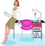 Link toOffice characters _41 vector