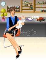 Link toOffice characters _60 vector