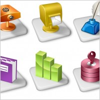 Link toOffice dock icons icons pack