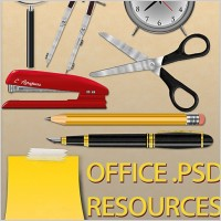 Link toOffice free psd resources