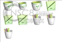 Link toOffice green desktop icons