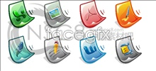 Office software desktop icons