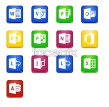 Link toOffice2013 software icons