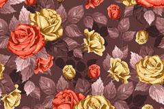 Link toOil rose background vector