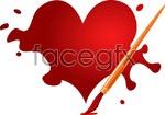 Link toOils of love valentine vector